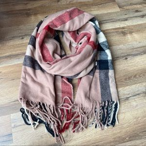 Windsor plaid scarf